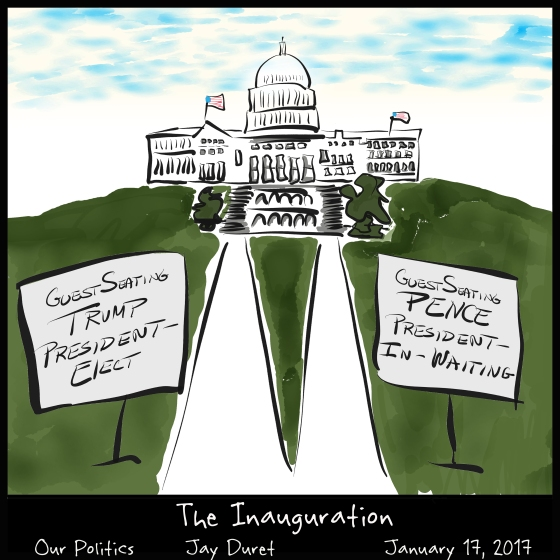 The Inauguration January 17, 2016