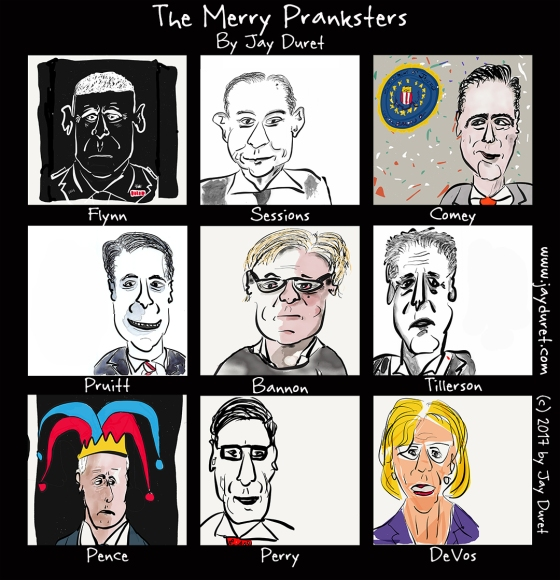 The Merry Pranksters February 9, 2017