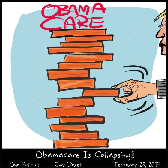 Obamacare Is Collapsing!! November 28, 2017