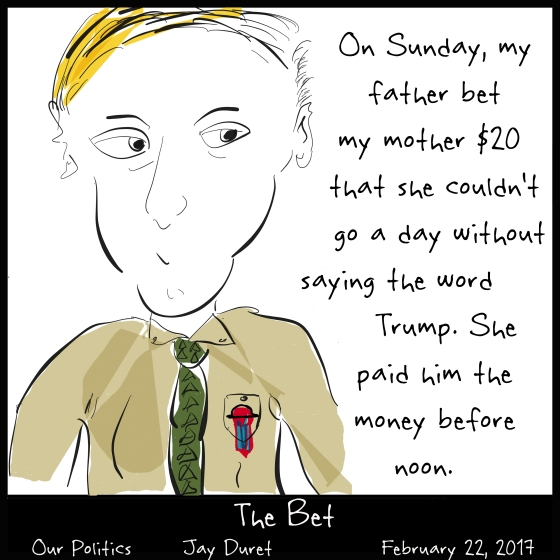 The Bet February 22, 2017