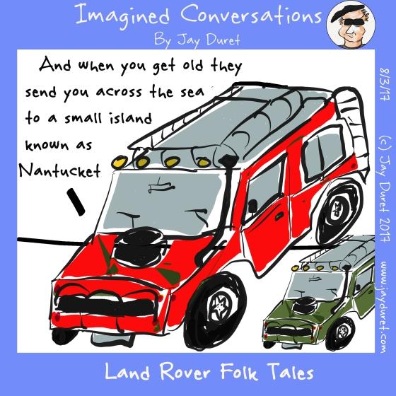 Land Rover Folk Tales