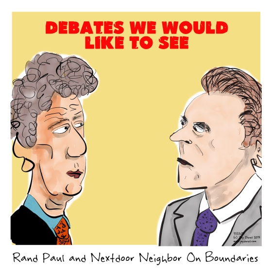 Rand Paul and Neighbor